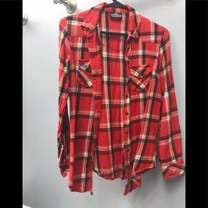 Angie button down shirt size x small